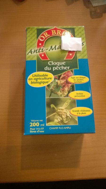 Anti maladies or brun cloque du p cher biologique - La cloque du pecher ...